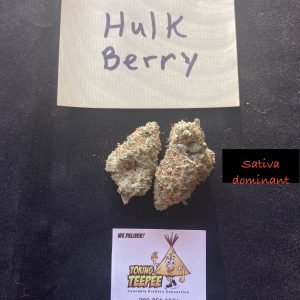 Hulkberry Sativa Strain
