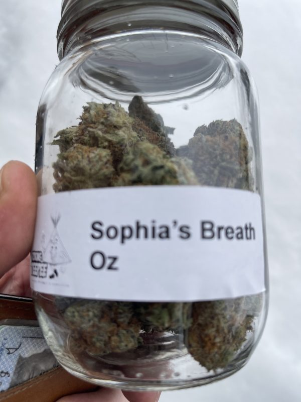 Sophies Breath jar